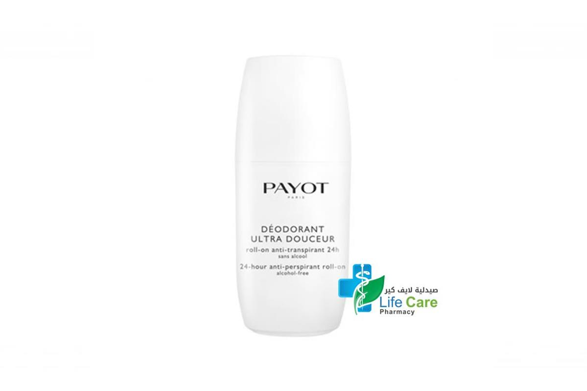 PAYOT DEODORANT ROLL ON 24 HOURS 75ML - صيدلية لايف كير