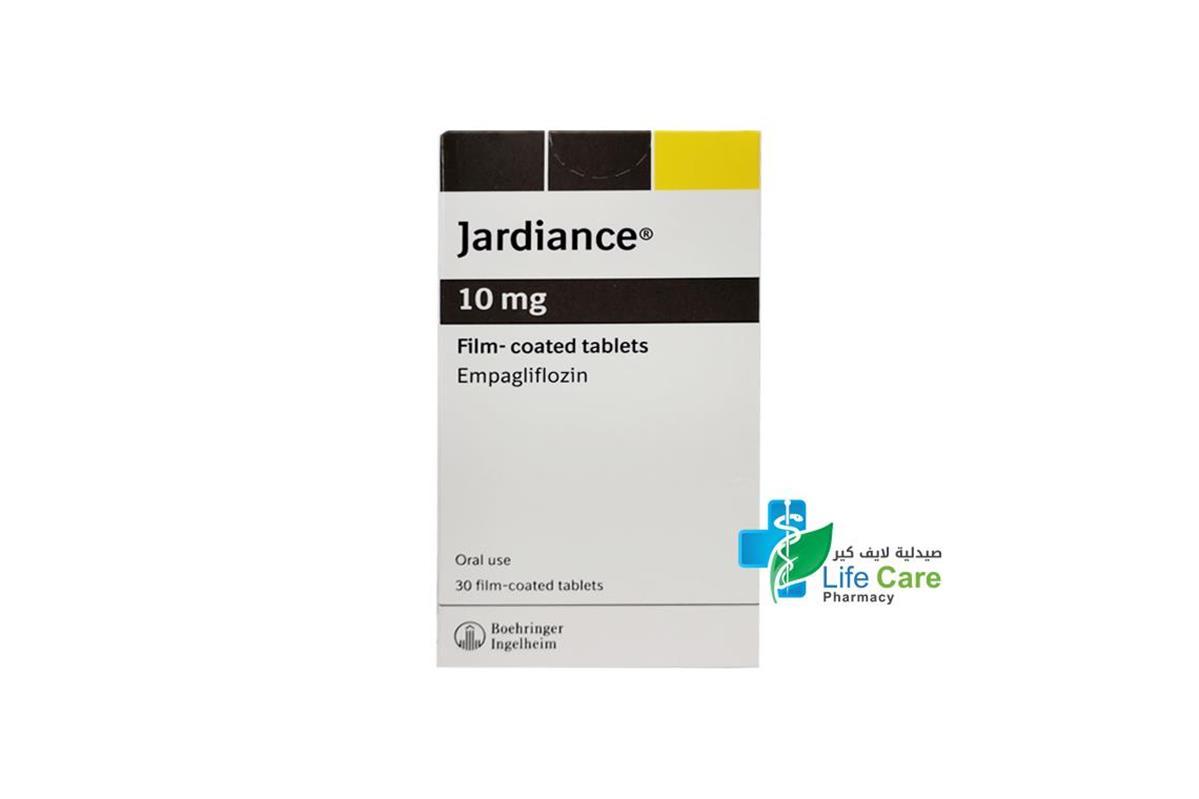 JARDIANCE 10MG 30 TABLET - صيدلية لايف كير