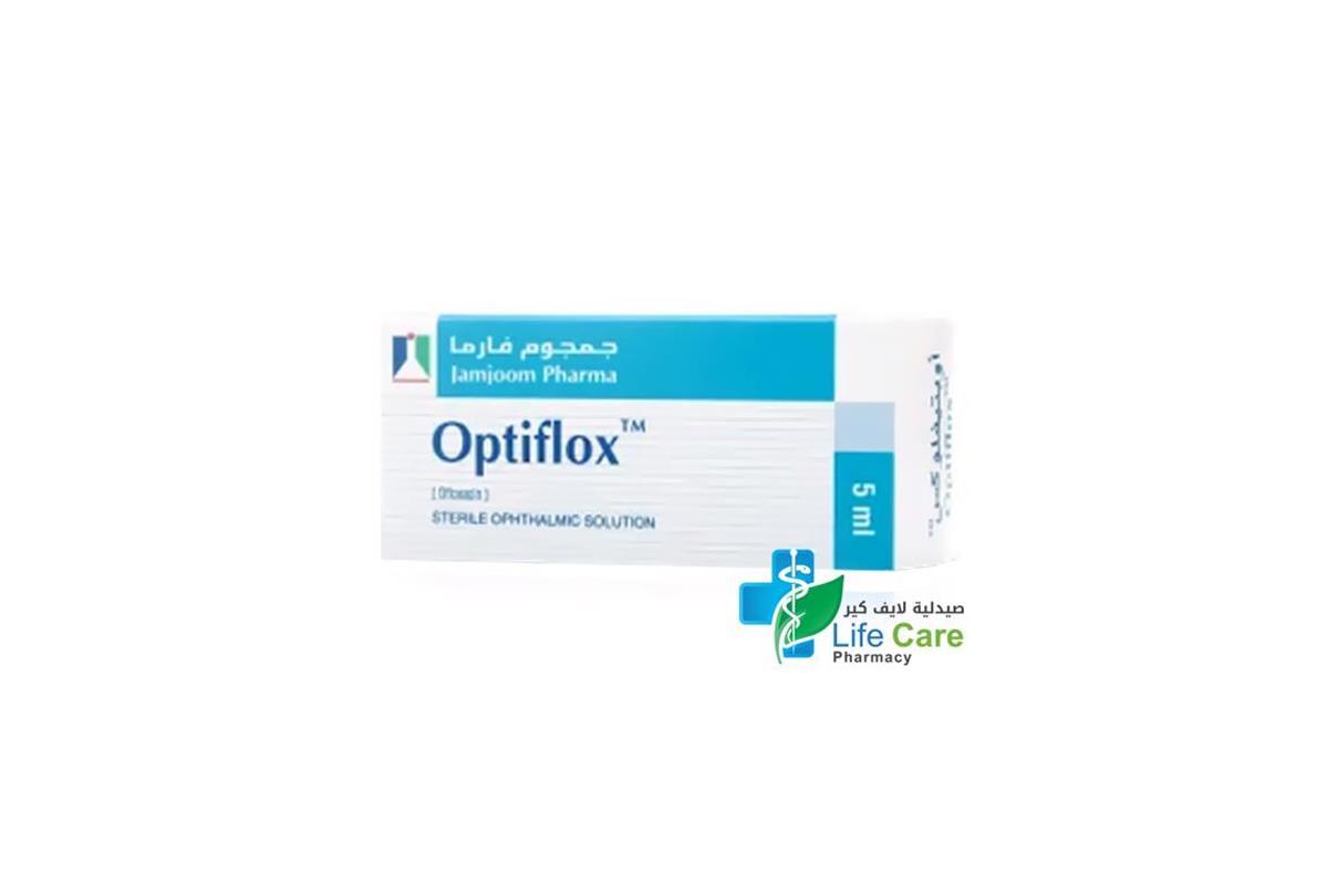 OPTIFLOX OPHTHALMIC SOLUTION 5 ML - صيدلية لايف كير