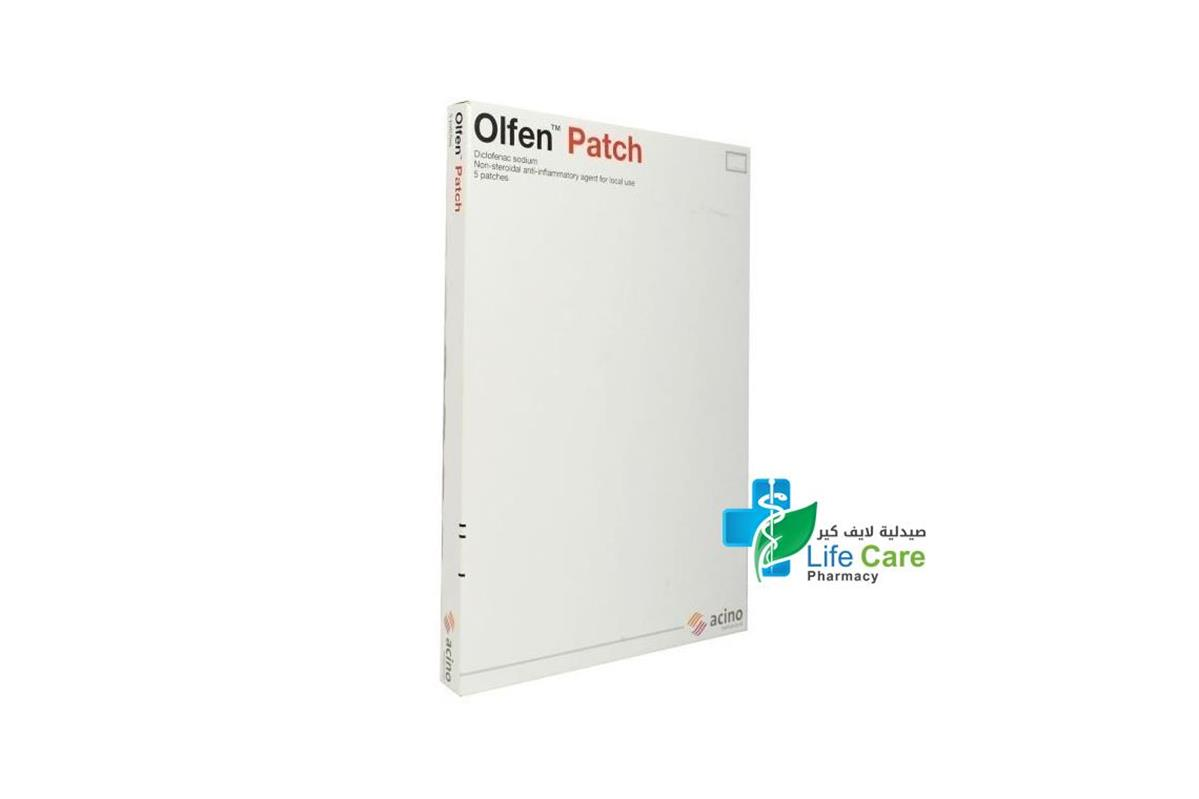 OLFEN 5 PATCHES - Life Care Pharmacy