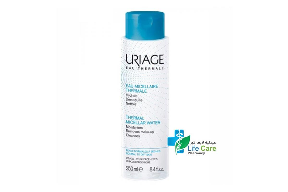 URIAGE THERMAL MICELLAR WATER FOR DRY SKIN 250 ML - Life Care Pharmacy