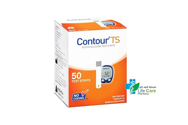 CONTOUR TS 50 TEST STRIPS - Life Care Pharmacy