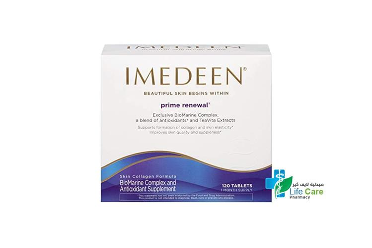 IMEDEEN PRIME RENEWAL 120 TABLETS - صيدلية لايف كير