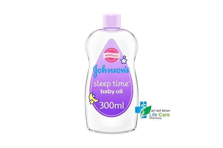 JOHNSONS BABY OIL BEDTIME 300 ML - صيدلية لايف كير