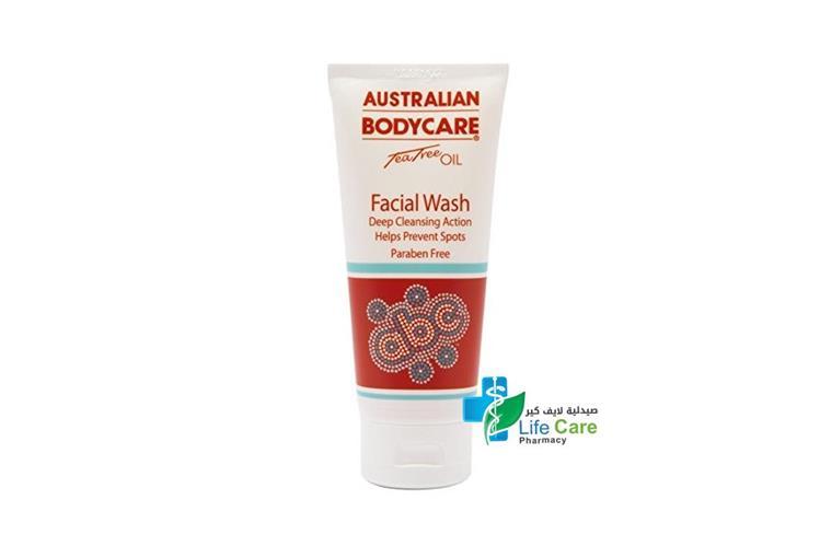 ABC AUSTRALIAN BODYCARE FACIAL WASH 100 ML - Life Care Pharmacy
