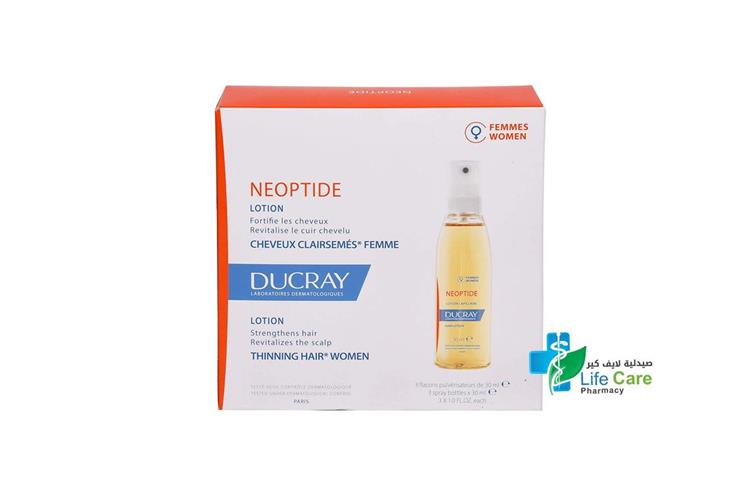 DUCRAY NEOPTIDE LOTION SPRAY 3X1  30 ML - صيدلية لايف كير