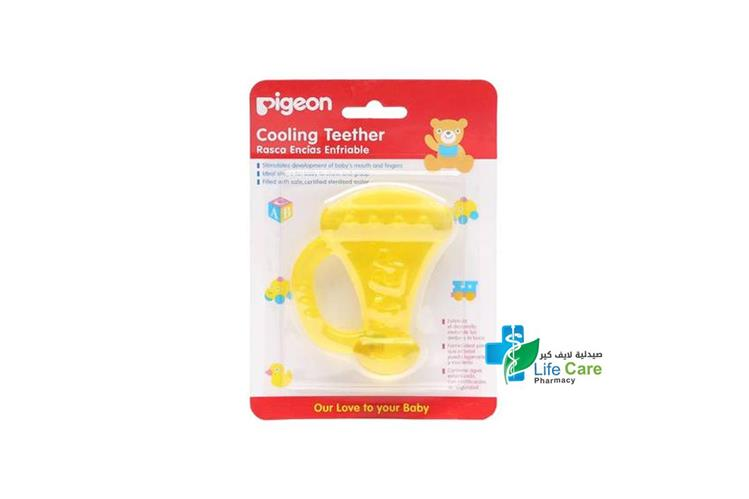 PIGEON COOLING TEETHER TRUMPET PLUS 4 MONTH - صيدلية لايف كير