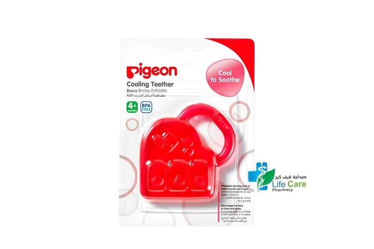 PIGEON COOLING TEETHER PIANO PLUS 4 MONTH - صيدلية لايف كير