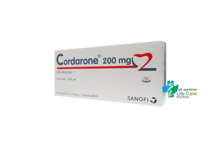 CORDARONE 200 MG 30 TABLETS - Life Care Pharmacy