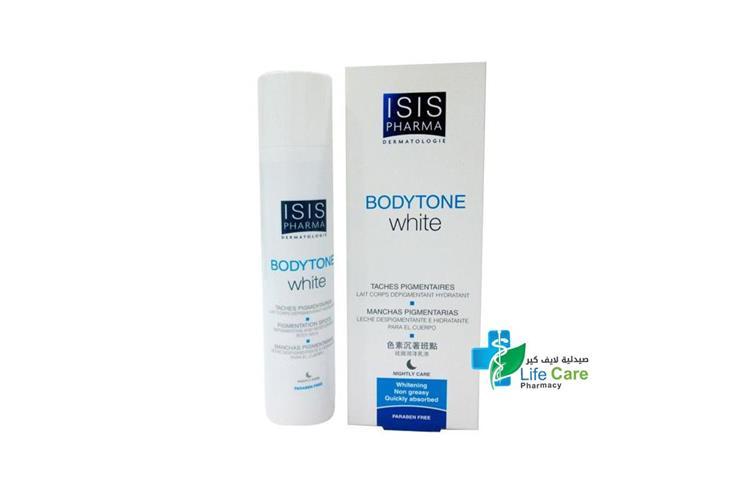 ISISPHARMA BODYTONE WHITE 100 ML - صيدلية لايف كير