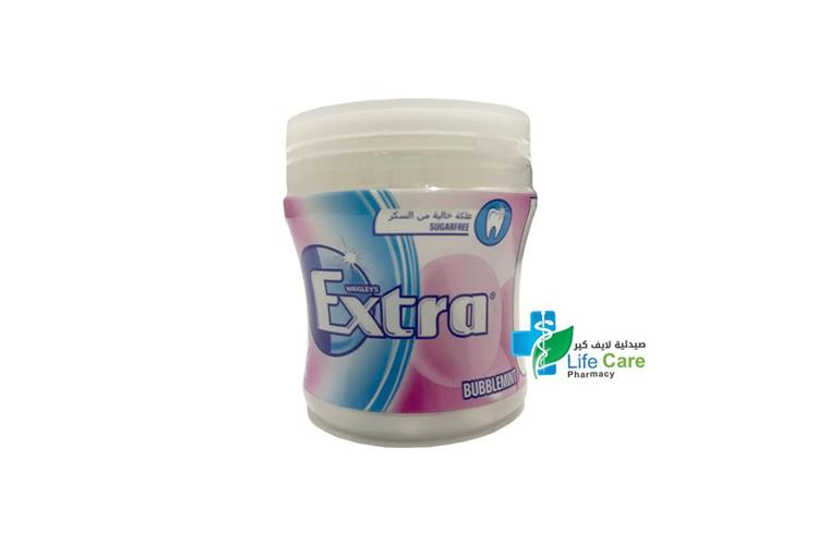 EXTRA BIGGIE BOTTLE BUBBLEMINT 60 PIECES - صيدلية لايف كير