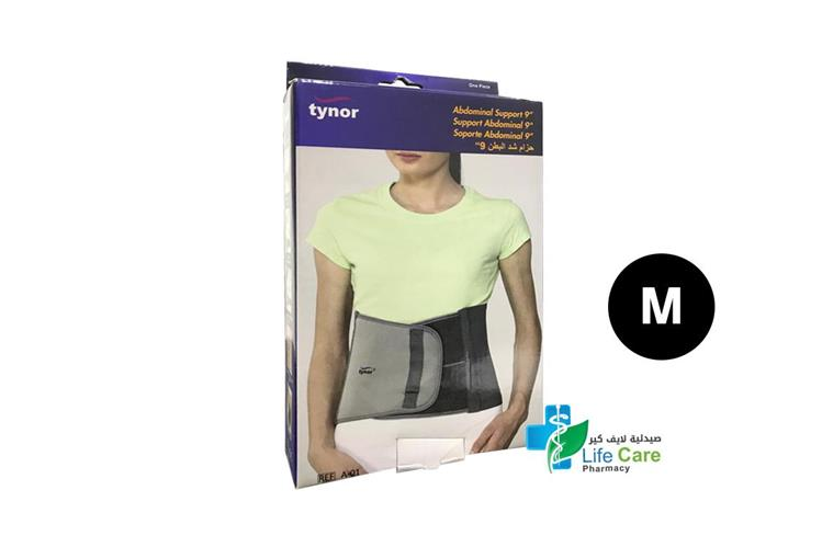 TYNOR ABDOMINAL SUPPORT M A01 - صيدلية لايف كير