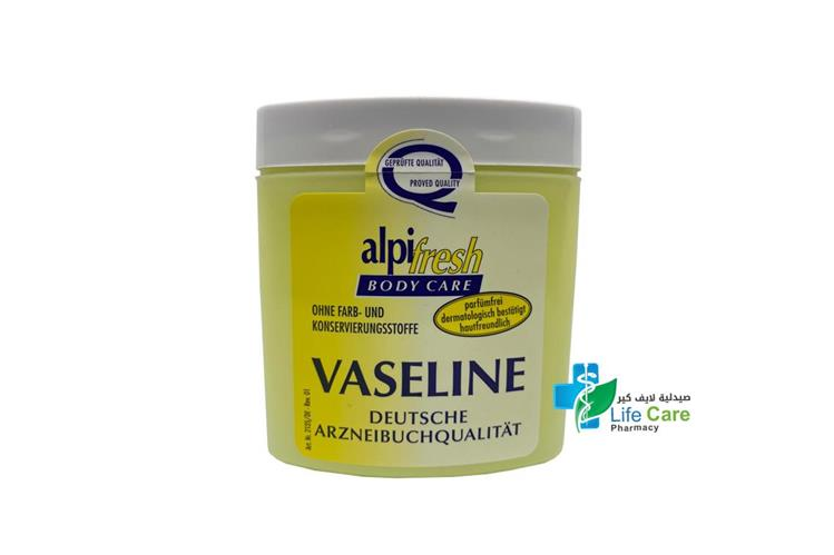 ALPI FRESH BODY CARE VASELINE 250 ML - صيدلية لايف كير
