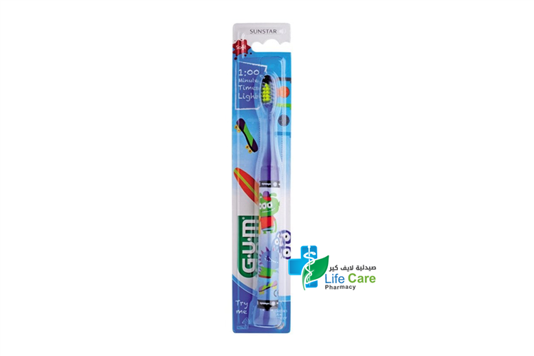 GUM JUNIOR LIGHT TOOTH BRUSH - صيدلية لايف كير
