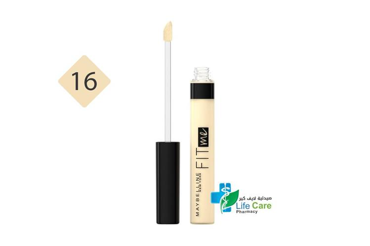 MAYBELLINE FIT ME CONC 16 WARM NUDE - صيدلية لايف كير