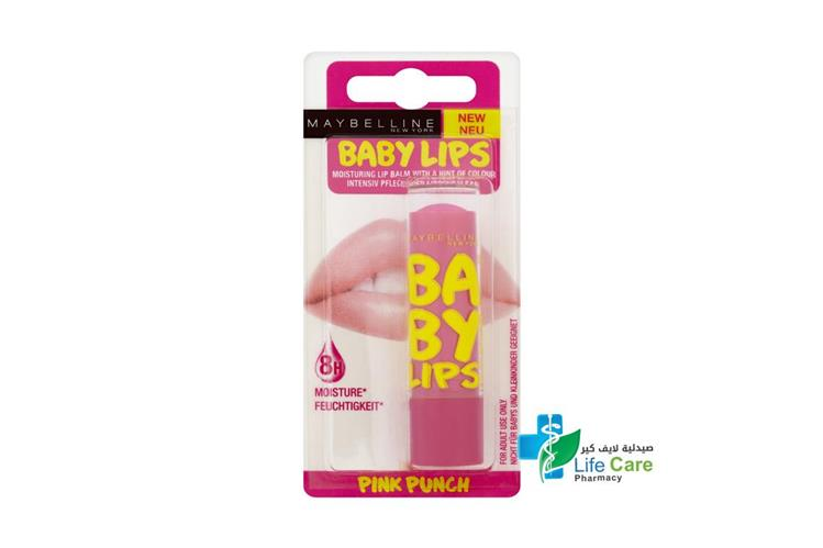 MAYBELLINE BABY LIP BALM 25 PINK PUNCH - صيدلية لايف كير
