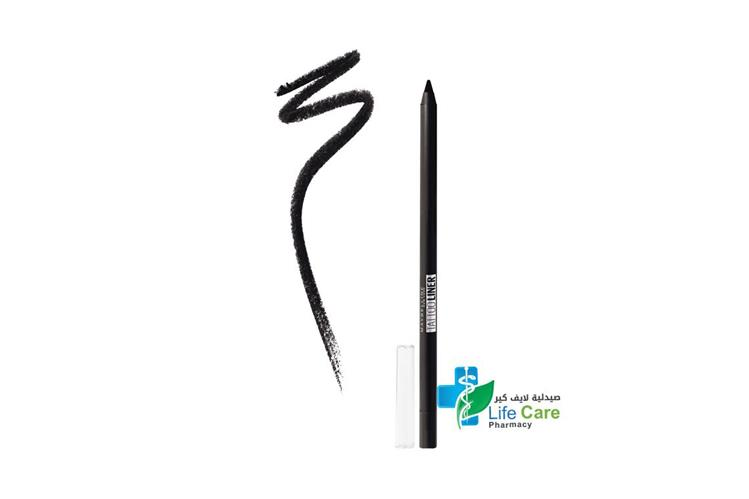 MAYBELLINE TAT.LINER GEL PENCIL 900 DEEP ONYX - صيدلية لايف كير