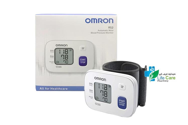 OMRON BLOOD PRESSURE MONITOR RS52 - صيدلية لايف كير