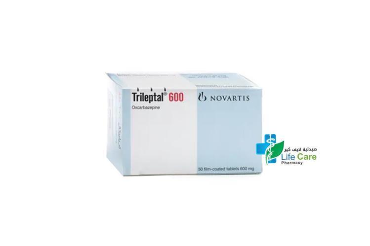 TRILEPTAL 600 MG 50 TABLETS - صيدلية لايف كير