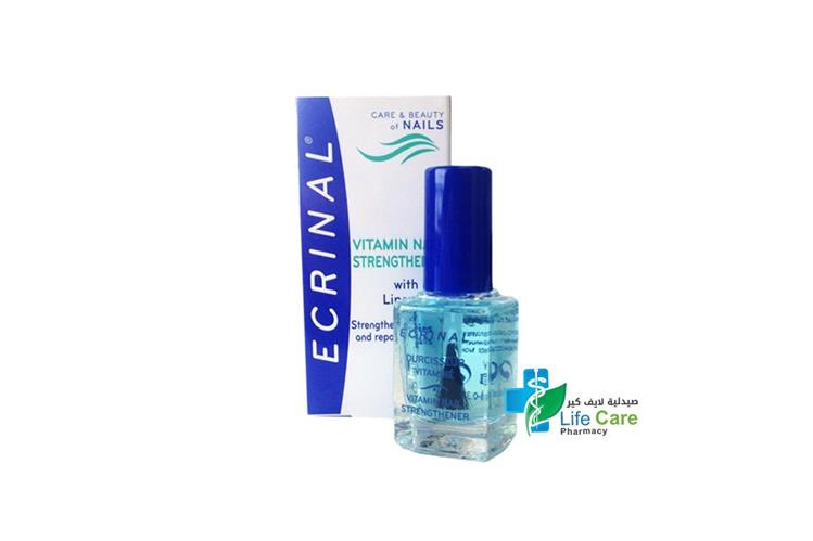 ECRINAL NAIL STRENGTHENER 10 ML - صيدلية لايف كير