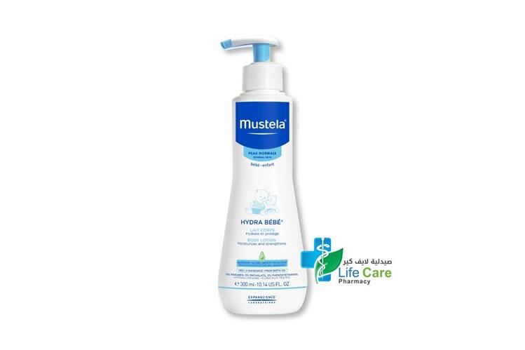 MUSTELA HYDRA BABY BODY LOTION 300 ML - صيدلية لايف كير
