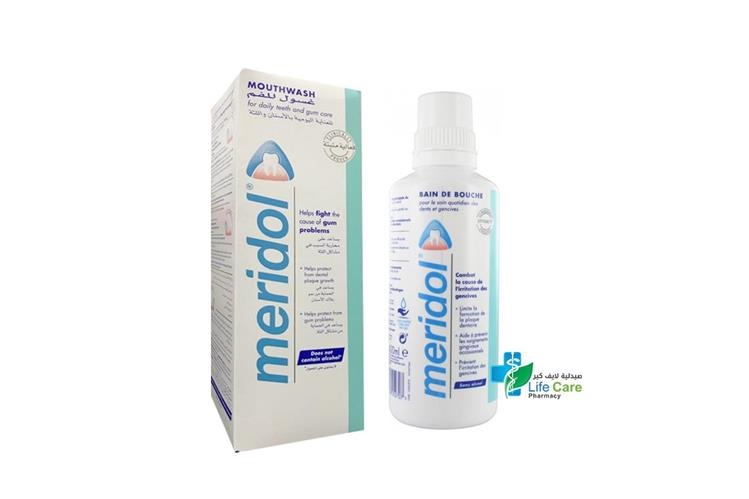 MERIDOL MOUTH WASH 400 ML - صيدلية لايف كير