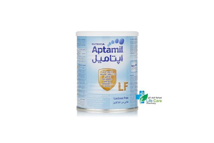 APTAMIL LF 400 GM - صيدلية لايف كير