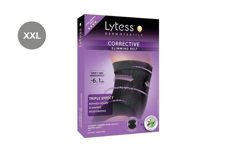 LYTESS CORRECTIVE SLIMMING BELT BLACK SIZE XXL - Life Care Pharmacy