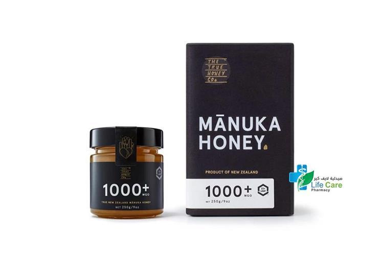 MANUKA HONEY 1000 PLUS MGO 22PLUS 250GM - Life Care Pharmacy