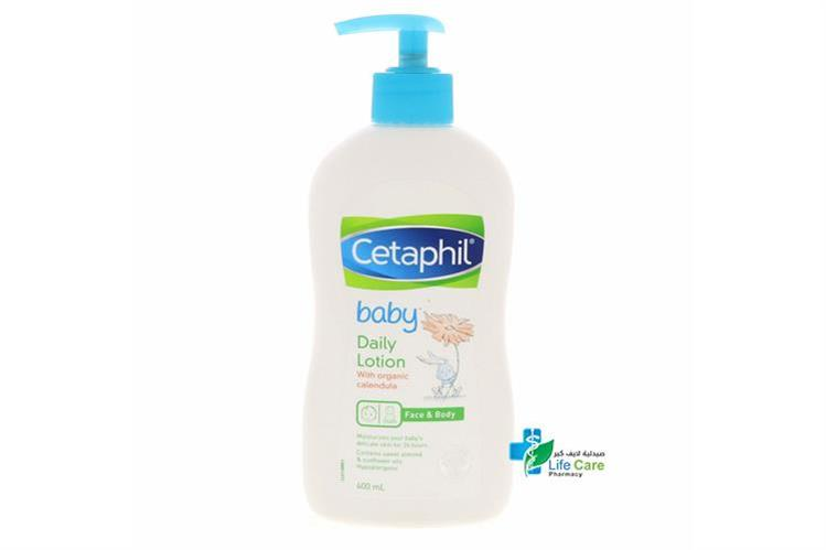 CETAPHIL BABY DAILY LOTION WITH CALENDULA 400ML - صيدلية لايف كير