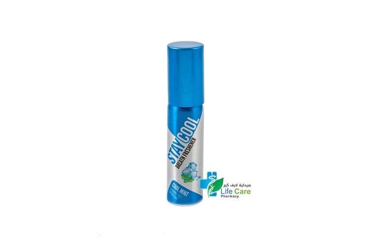 STAYCOOL BREATH FRESHENER COOL MINT 20ML SPRAY - صيدلية لايف كير