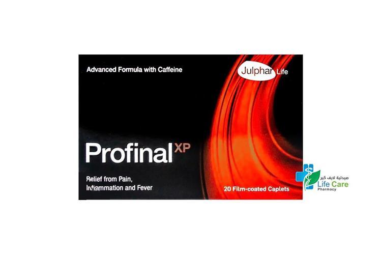 PROFINAL XP 20 CAPLETS - صيدلية لايف كير