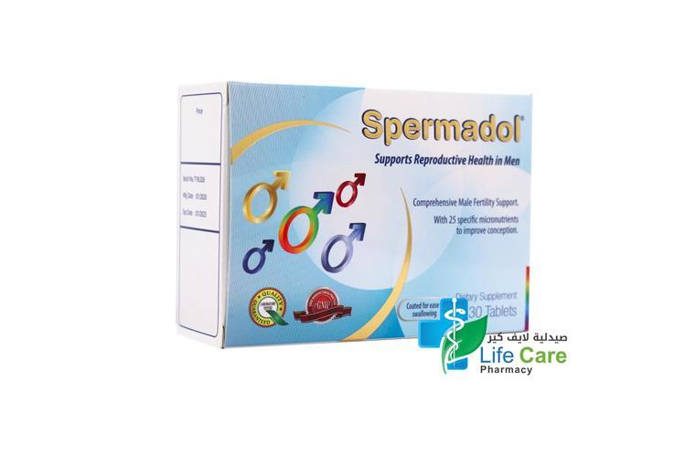 VITAL HEALTH SPERMADOL 30 TABLETS - Life Care Pharmacy