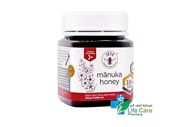 MANUKA HONEY 10PLUS 263 PLUS MGO 250 GM - Life Care Pharmacy