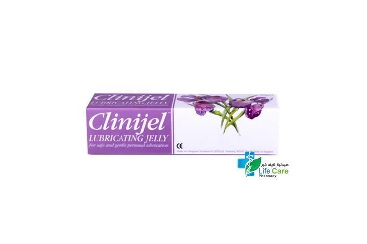 CLINIJEL LUBRICATING JELLY 82GM - Life Care Pharmacy