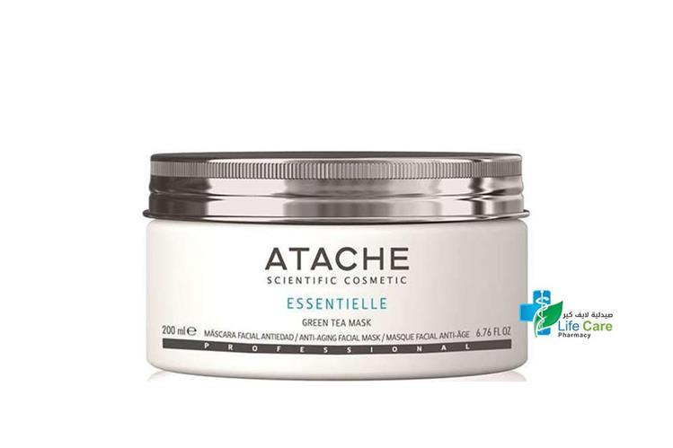ATACHE ESSENTIELLE GREEN TEA MASK 200 ML - Life Care Pharmacy