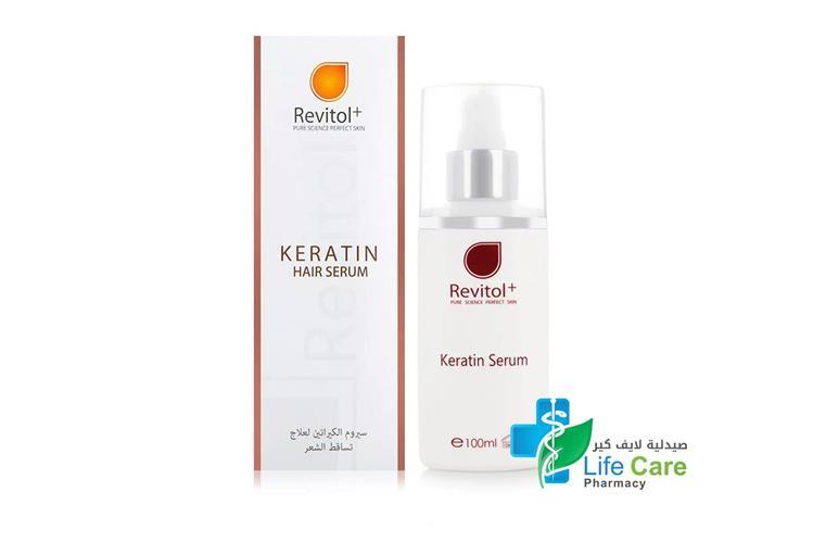 REVITOL+ KERATIN HAIR SERUM - Life Care Pharmacy