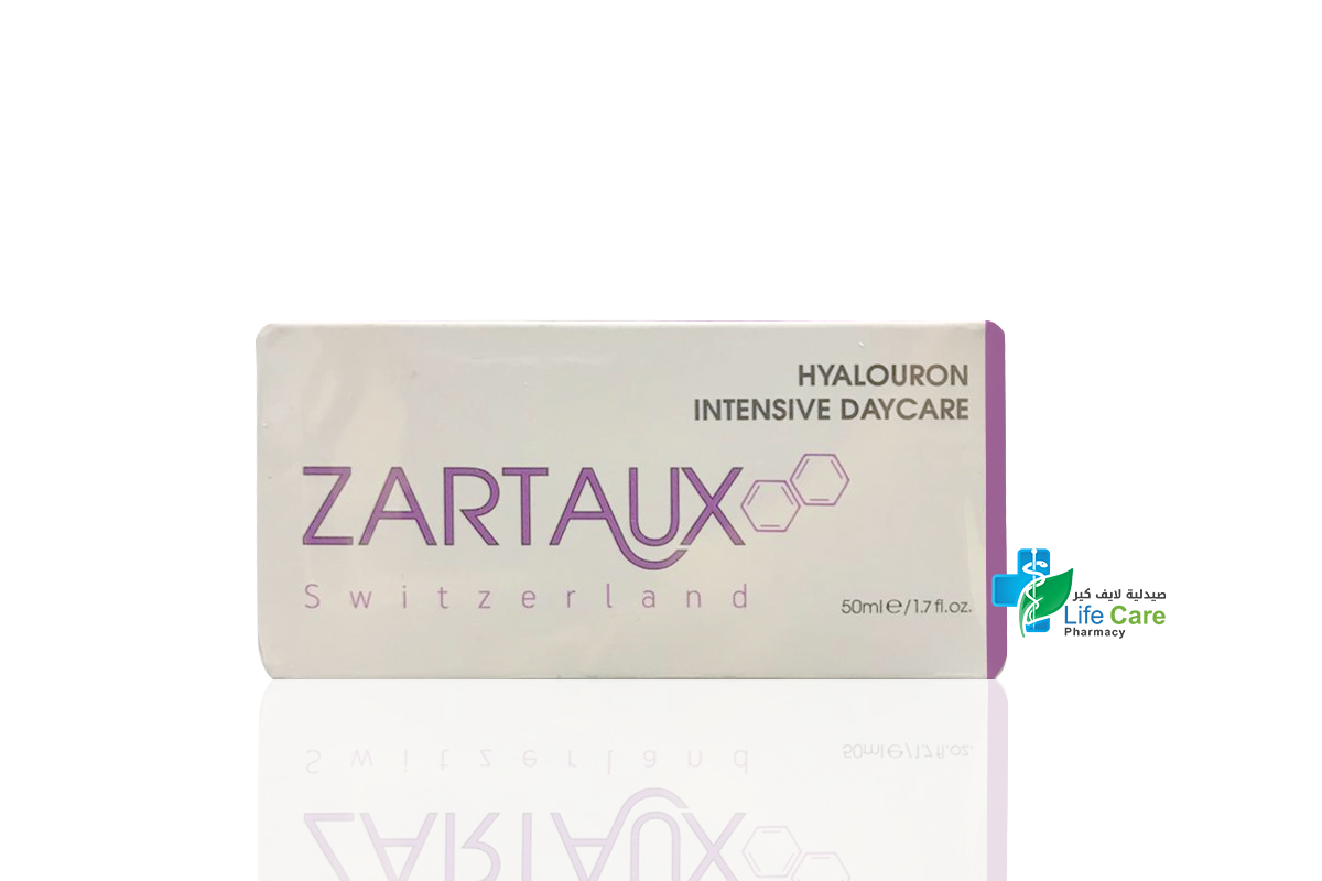 ZARTAUX HYALOURON INTENSIVE DAYCARE 50 ML - Life Care Pharmacy