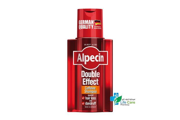 ALPECIN DOUBLE EFFECT CAFFEINE SHAMPOO 200 ML - Life Care Pharmacy