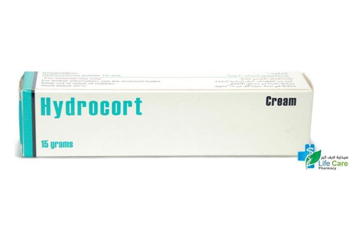 HYDROCORT CREAM 15 GM - صيدلية لايف كير