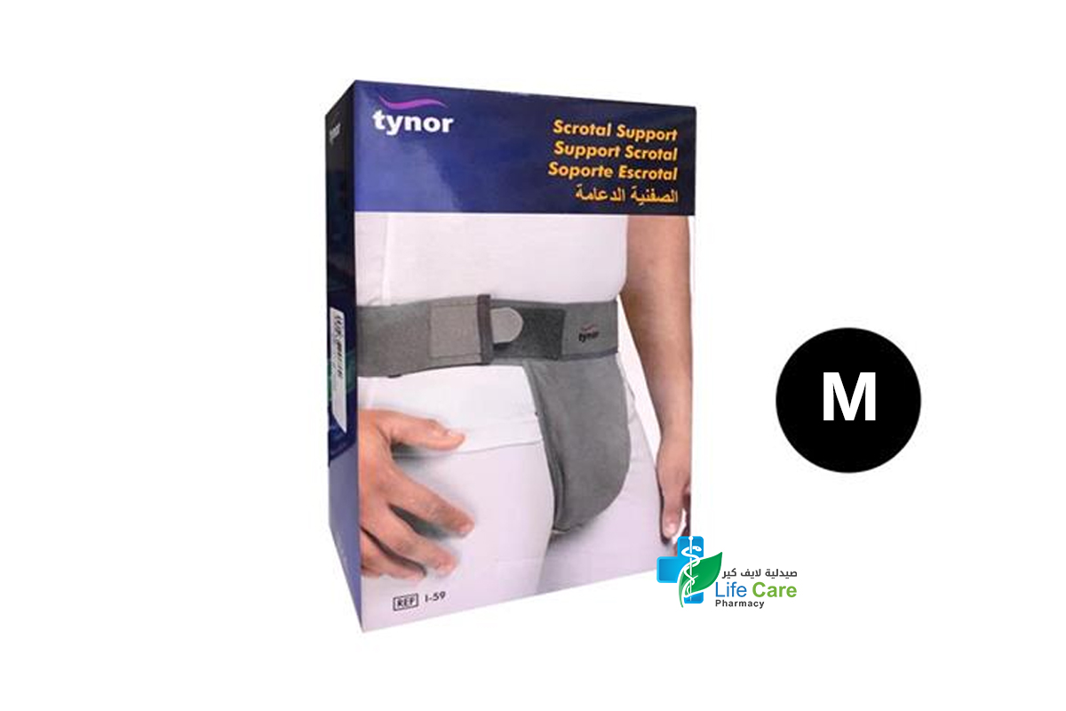 TYNOR SCROTAL SUPPORT M I 59 - Life Care Pharmacy