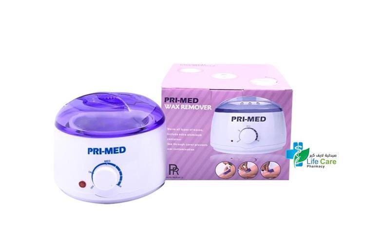 PRI MED WAX HEATER REMOVER - صيدلية لايف كير