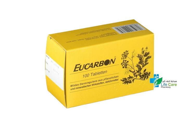 EUCARBON 100 TAB - صيدلية لايف كير