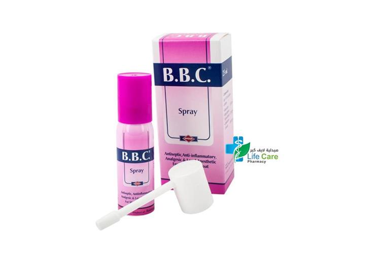 B B C SPRAY 25 ML - صيدلية لايف كير
