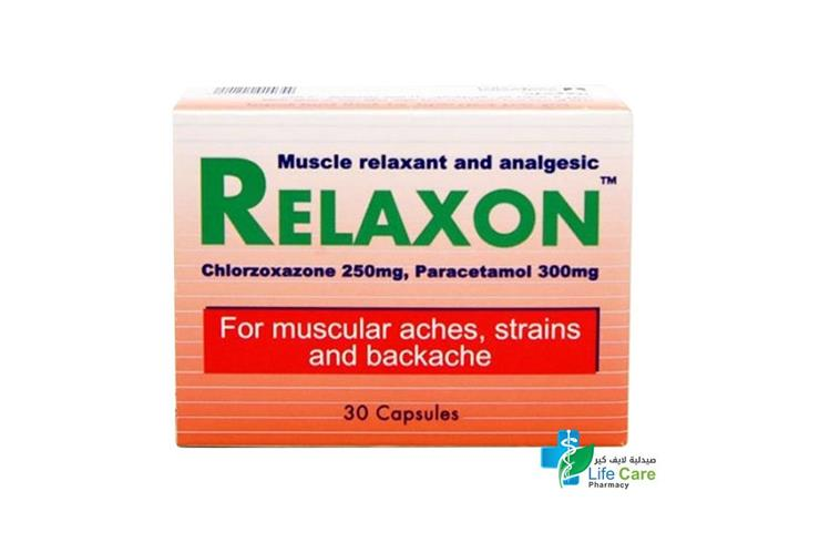 RELAXON 30 CAP - صيدلية لايف كير
