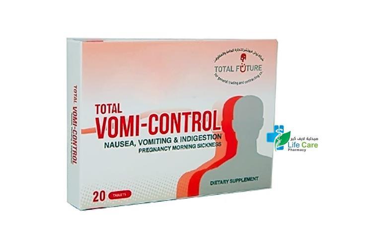 VOMI CONTROL  20 TABLETS - صيدلية لايف كير