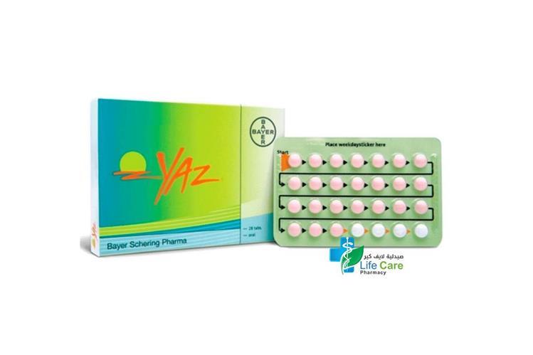 YAZ 28 TABLET - Life Care Pharmacy
