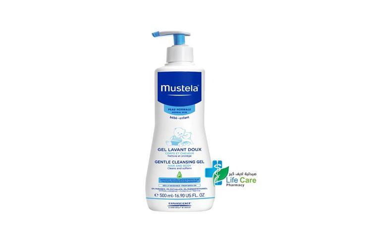 MUSTELA GENTLE CLEANSING GEL 500 ML - Life Care Pharmacy
