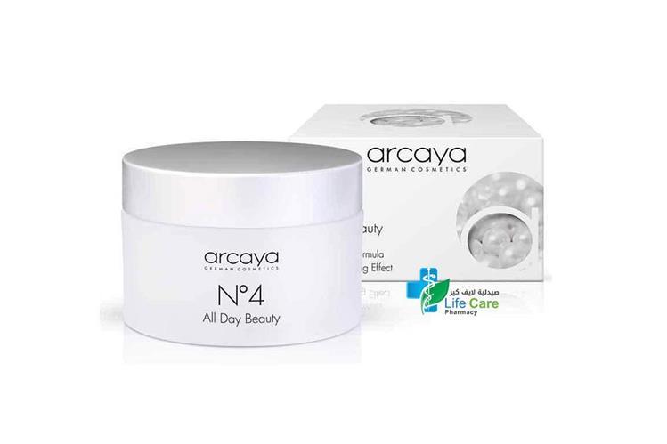 ARCAYA ALL DAY BEAUTY CREAM N4   100 ML - صيدلية لايف كير