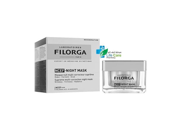 FILORGA NCEF NIGHT MASK 50 ML - Life Care Pharmacy